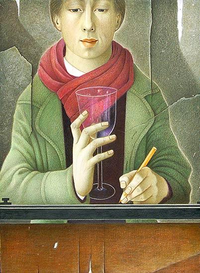 monique passicot colored pencil graphite